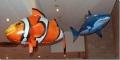 Надувная летающая рыба